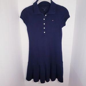 Girl's Tommy Hilfiger Polo Dress Navy 8-10